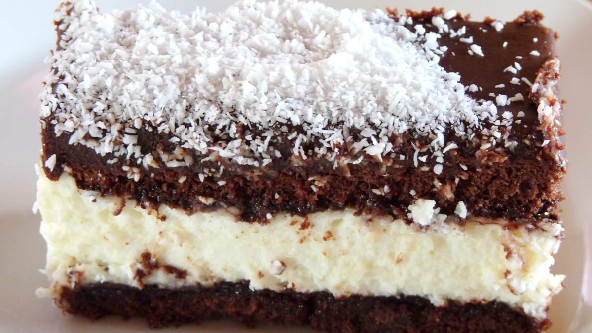 gateau facile chocolat et coco
