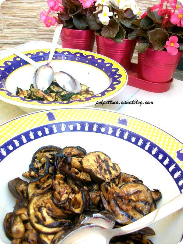 aubergines et courgettes grill 233 es par l italie dans ma cuisine
