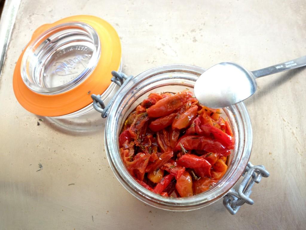 Recettes de tomates confites par the happy cooking friends - Cuisiner des tomates sechees ...