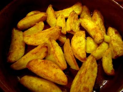 Frites ou potatoes au four la graisse de canard par - Cuisiner sans graisse ...
