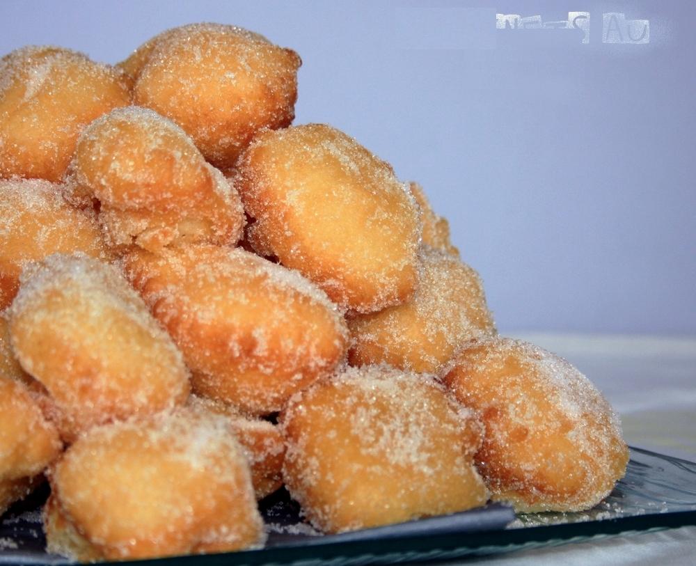 Recettes de beignets par amandine cooking beignets au sucre express beignets aux pommes pets - Recette pate a beignet sucre ...