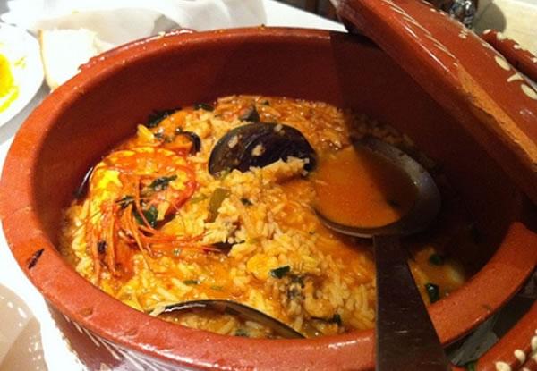 Riz aux fruits de mer portugais par cuisine portugaise for Cuisine portugaise