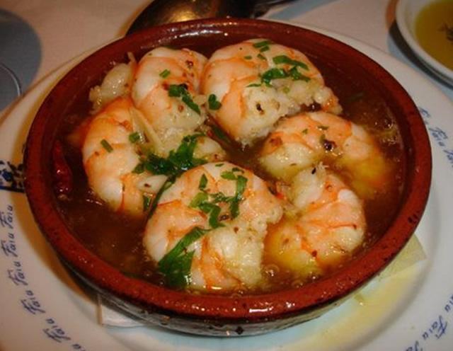 Crevettes au citron par cuisine portugaise for Cuisine portugaise