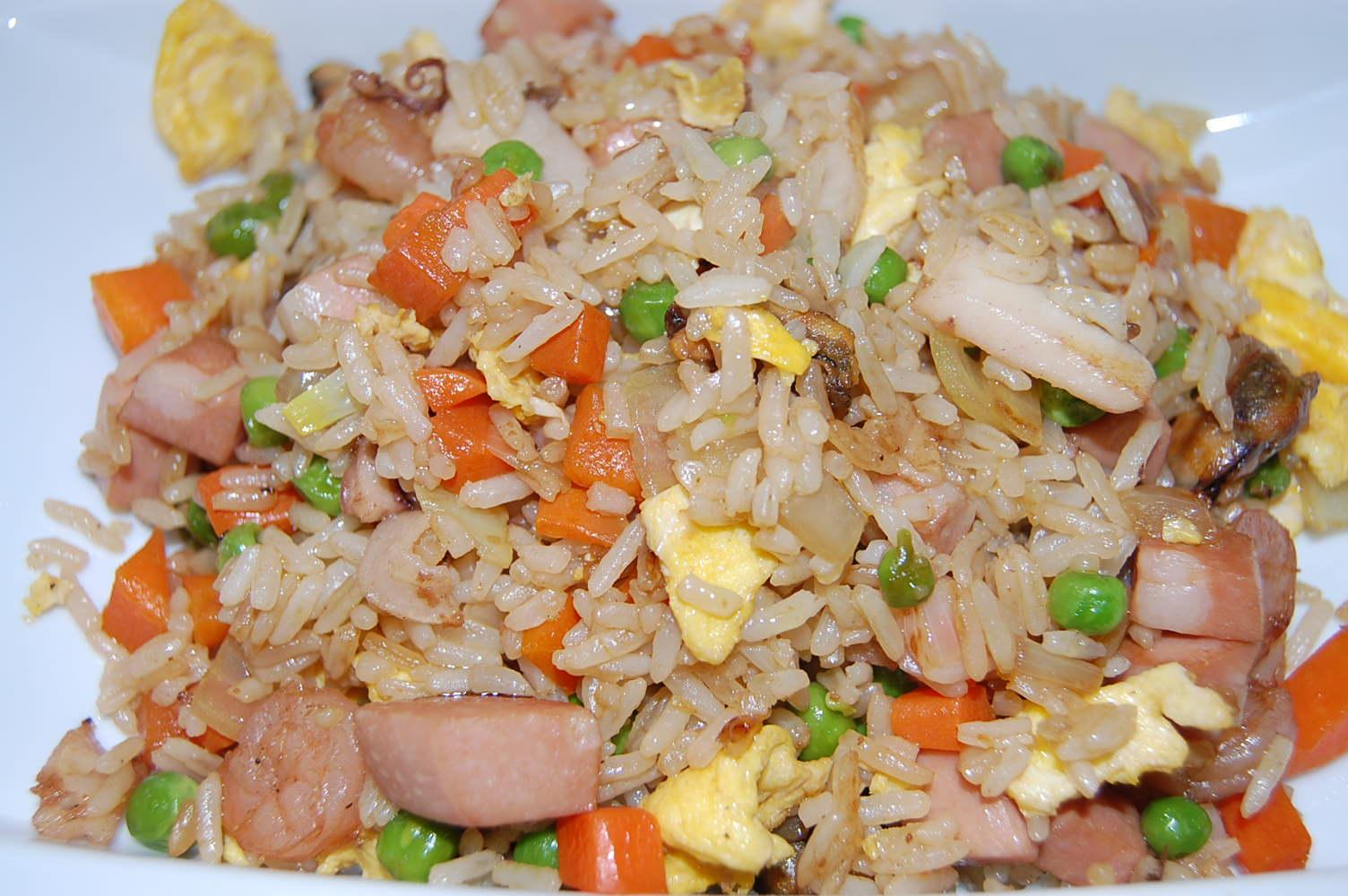 Recettes de riz aux fruits de mer et de cuisine asiatique