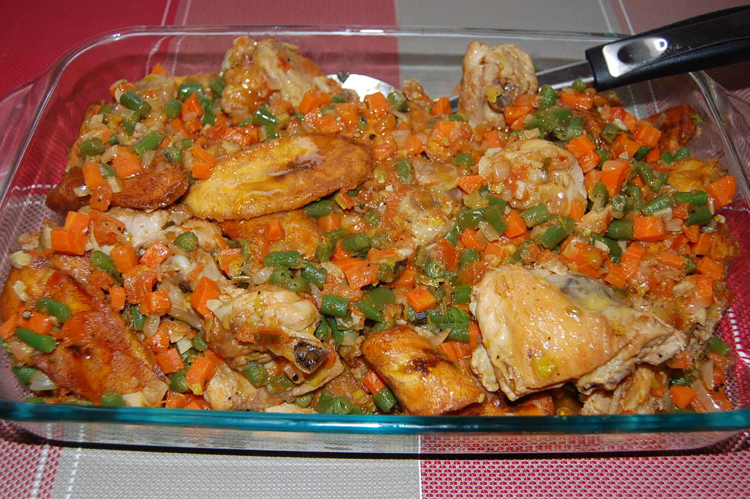 Poulet dg directeur g n ral par toimoietcuisine for Africaine cuisine