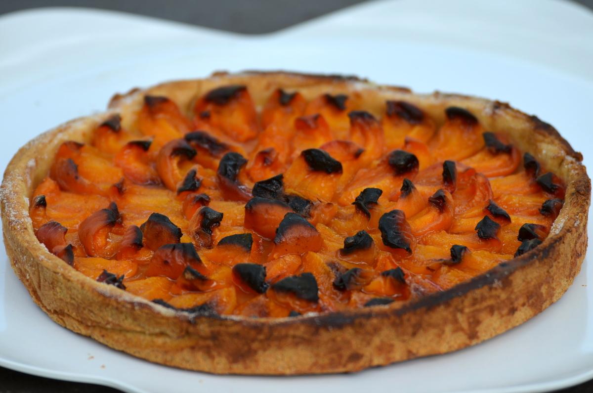 tarte aux prunes et abricots