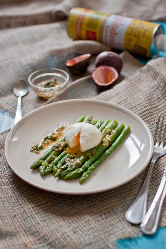 recettes d 39 oeuf mollet par stella cuisine salade d 39 asperges ti des oeufs mollets vinaigrette. Black Bedroom Furniture Sets. Home Design Ideas