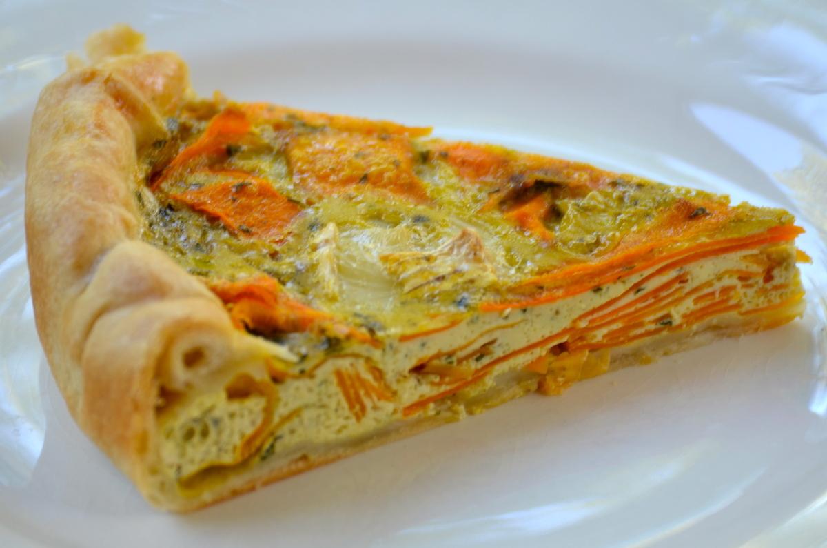Quiche aux carottes ch vre et cumin une recette de quiche for Cuisine de quiches originales et gourmandes