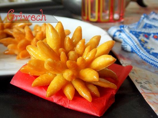 Griwech moderne facon fleur de tournesol par mes for Mouskoutchou samira tv