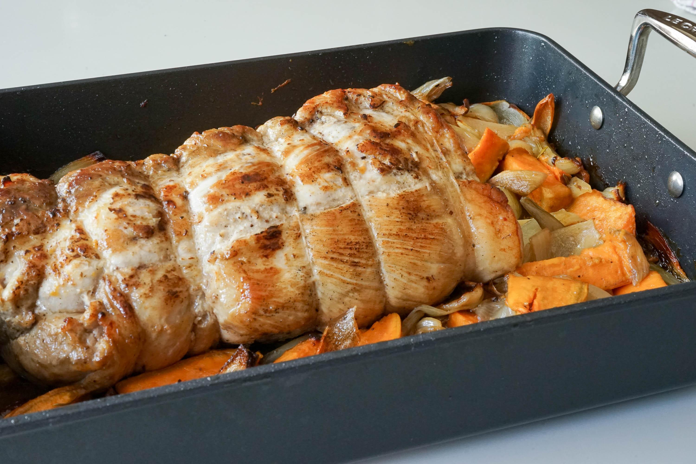 R ti de porc recette du r ti de porc cuisson du r ti de for Repas sans cuisiner