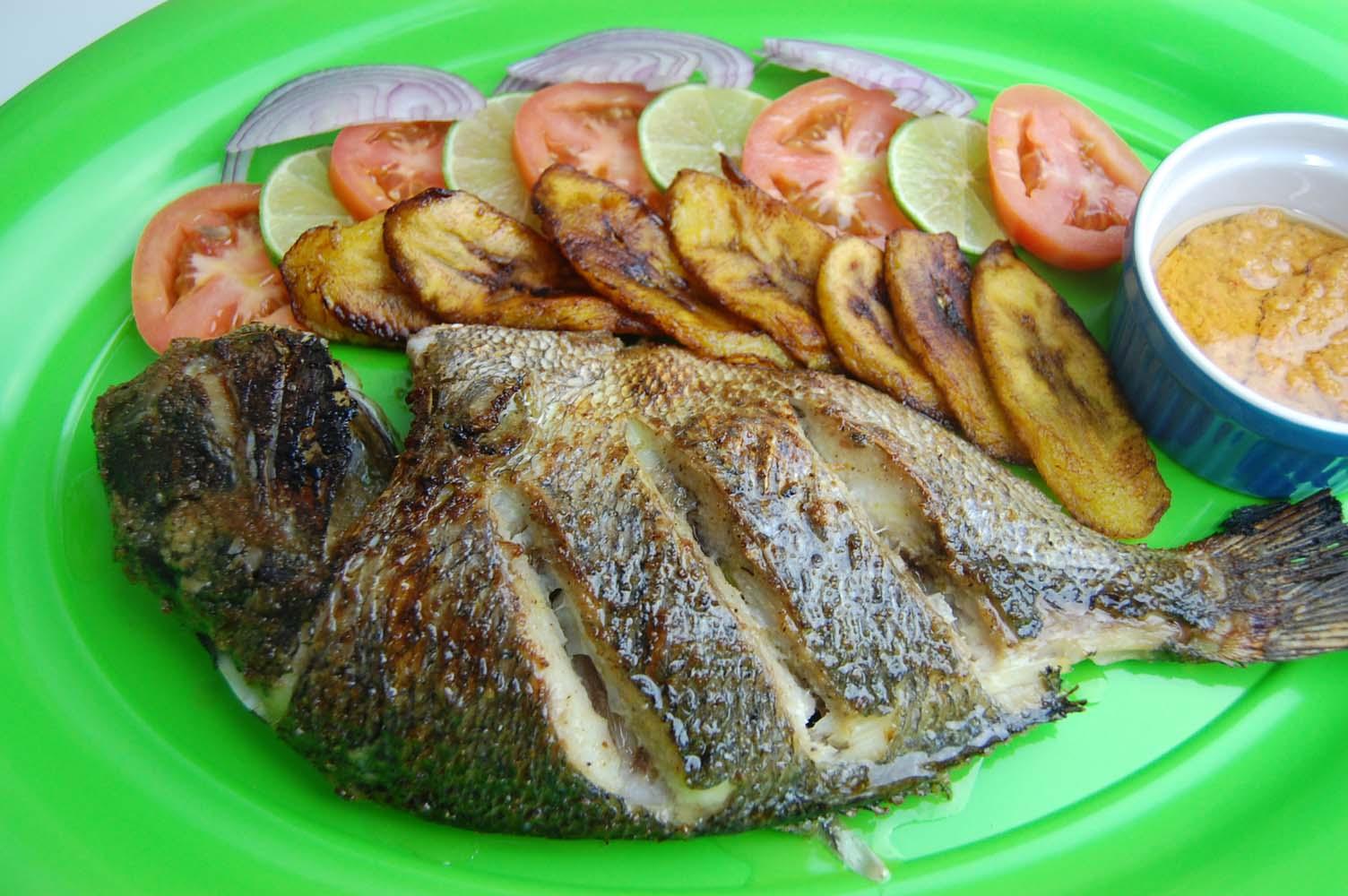 Dorade au four et marinade aux pices africaines par - Cuisiner le maquereau au four ...