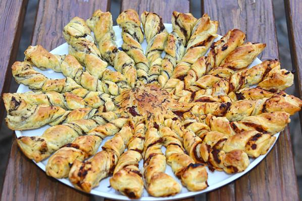 Soleil gourmand pour l 39 ap ritif par jackie - Soleil feuillete pour l aperitif ...