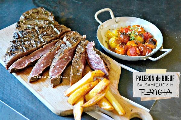 Plancha paleron de boeuf marin au balsamique par kaderick - Cuisiner le paleron de boeuf ...