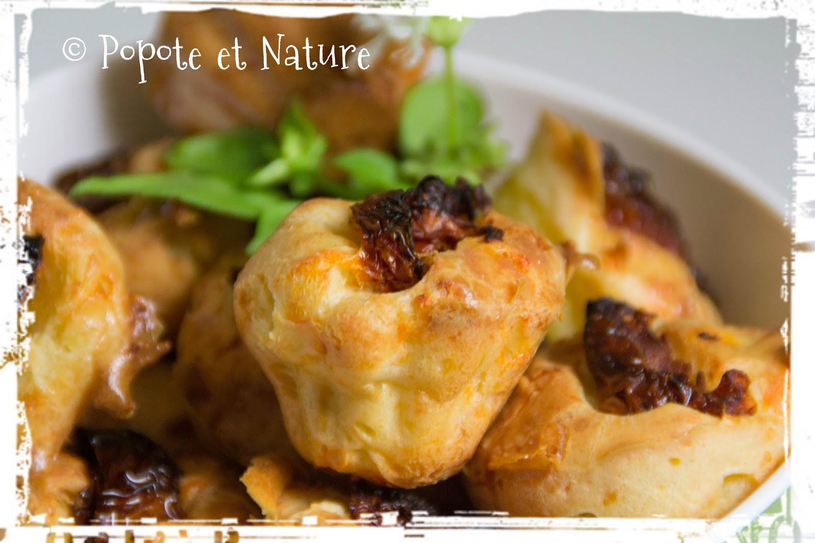 Recettes de bouch es par popote et nature minibouch es ap ro moelleuses au basilic et aux - Cuisiner les tomates sechees ...