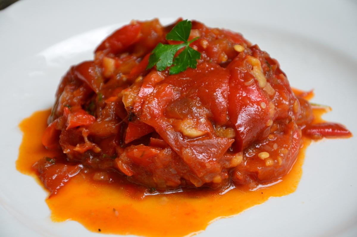 Recettes de riste poivrons par la p 39 tite cuisine de - Cuisiner des poivrons ...