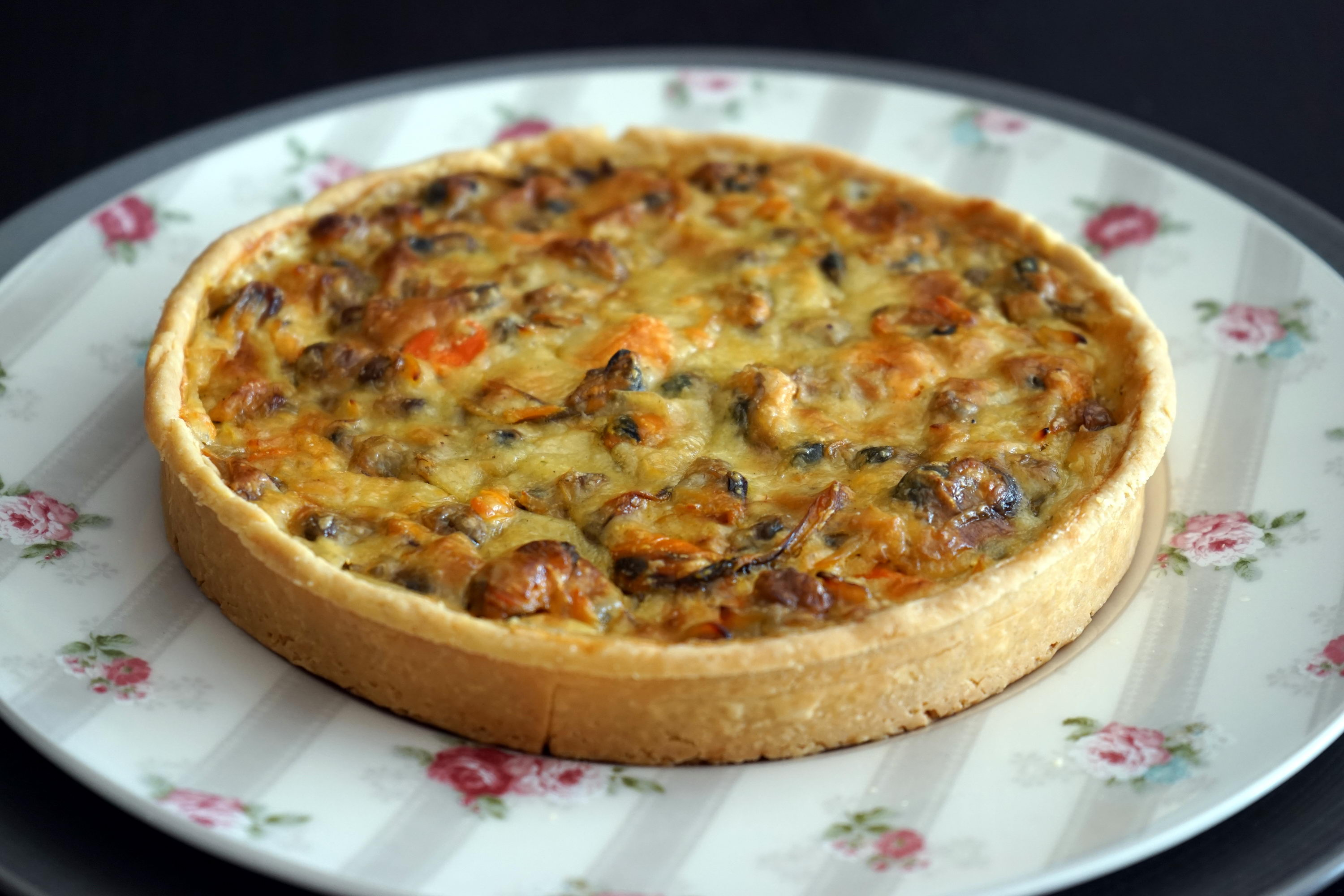 quiche aux fruits de mer recette de la quiche aux fruits. Black Bedroom Furniture Sets. Home Design Ideas