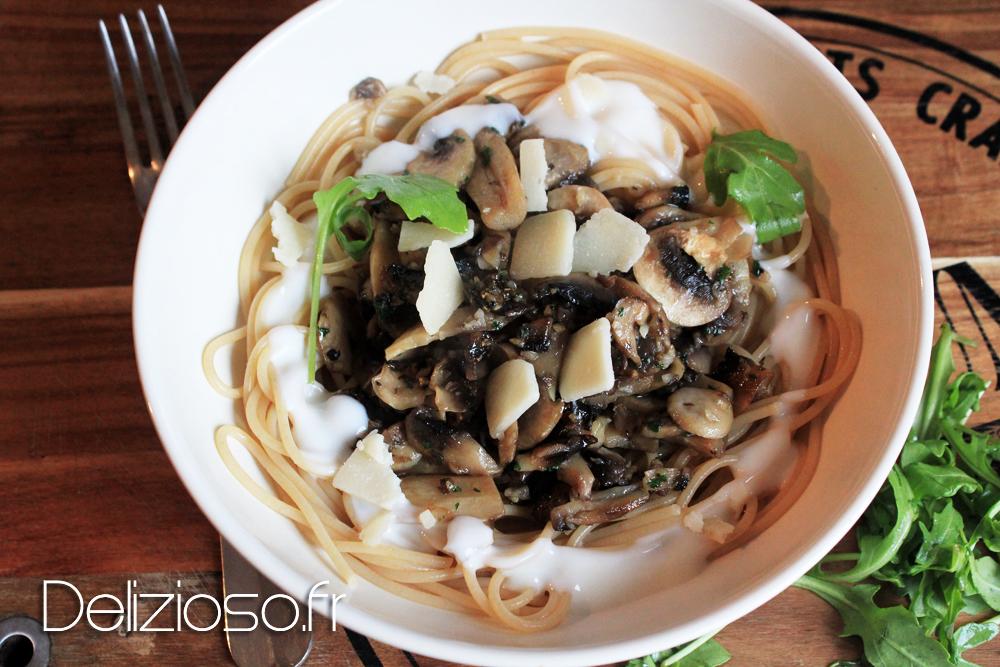 Recettes de cuisine minceur par delizioso spaghettis aux - Cuisine minceur rapide ...