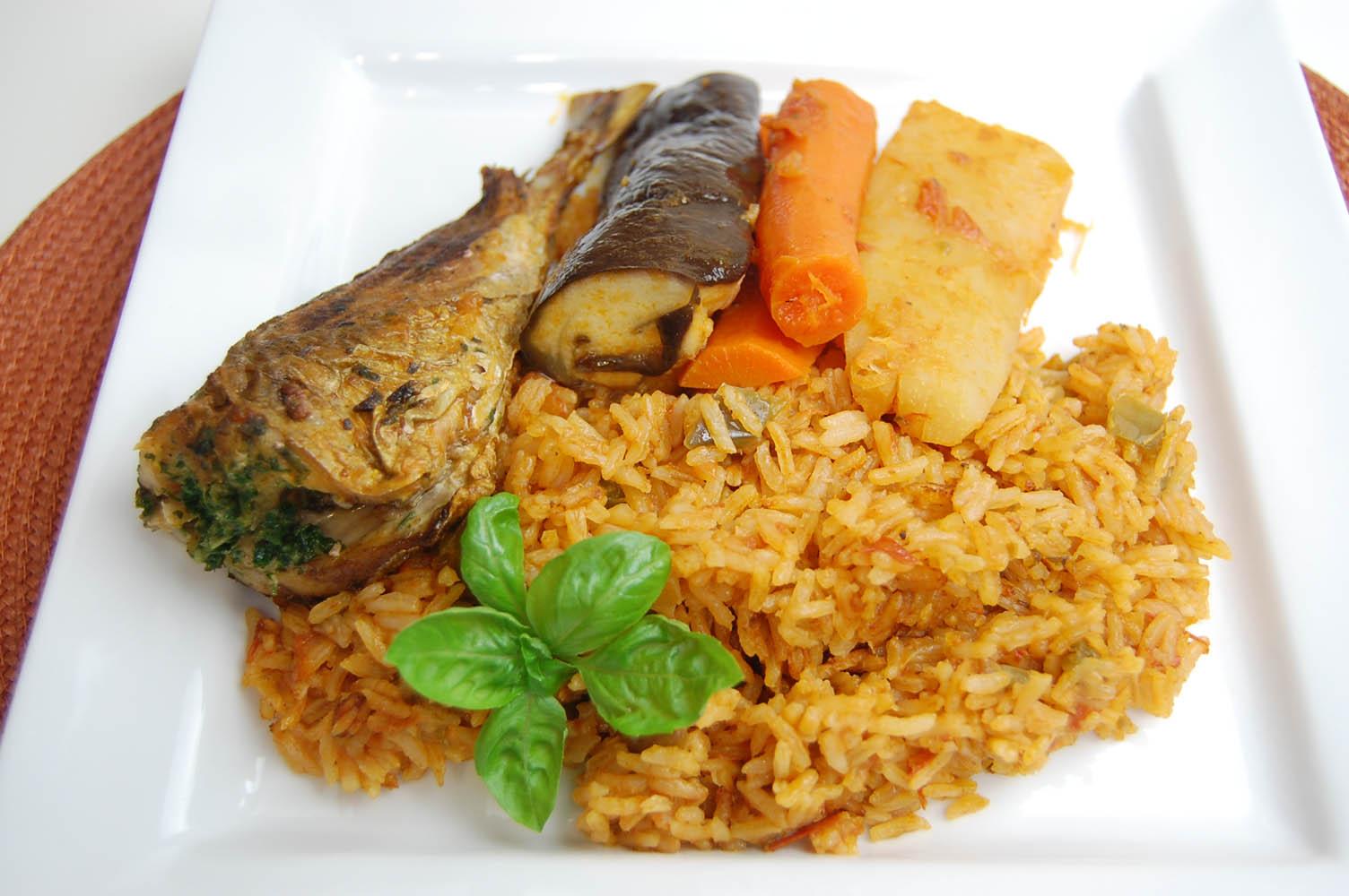 Riz au gras thieboudienne afrique de l 39 ouest par for Africaine cuisine