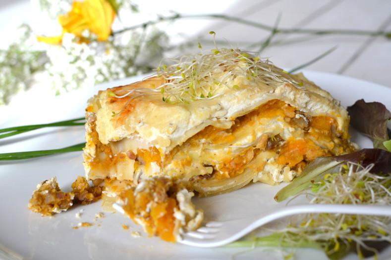 Lasagnes v g tariennes une recette de lasagnes - Cuisiner chataignes fraiches ...