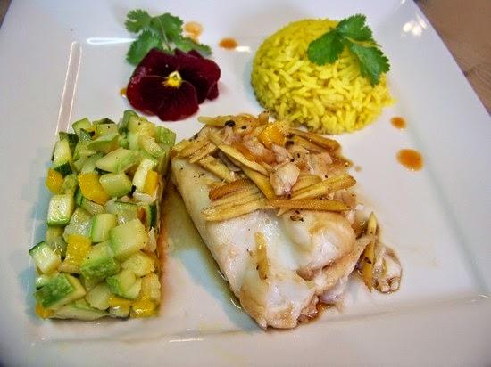 Dos de cabillaud fa on asiatique et courgettes croquantes - Cuisine dos de cabillaud ...