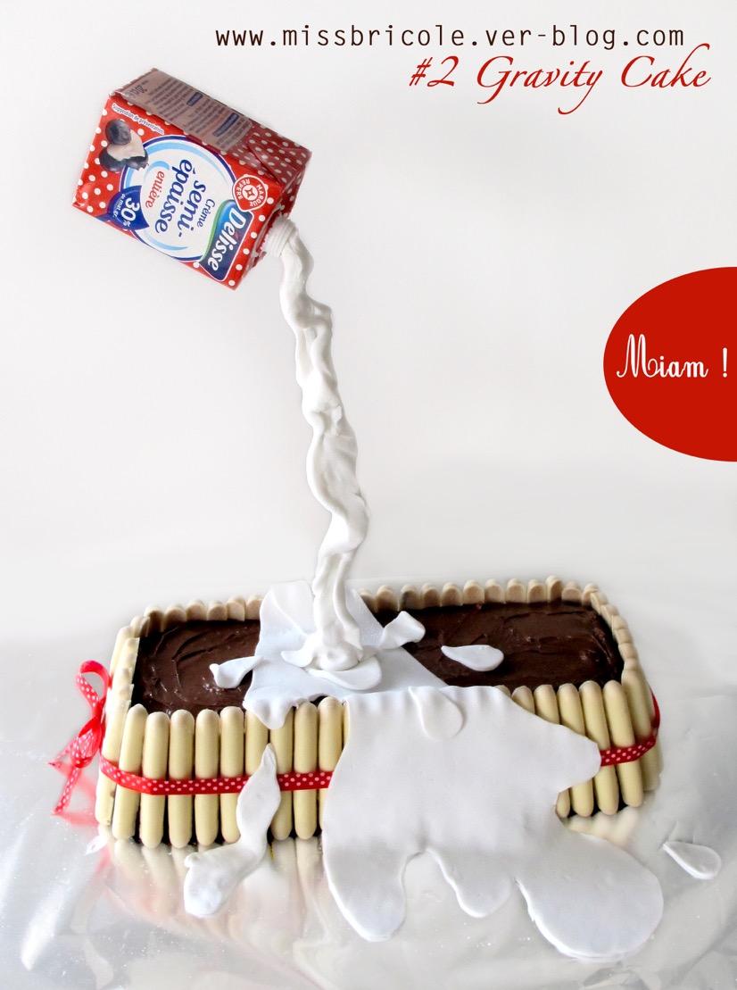 Gravity cake par gourmicom - Gravity cake noel ...