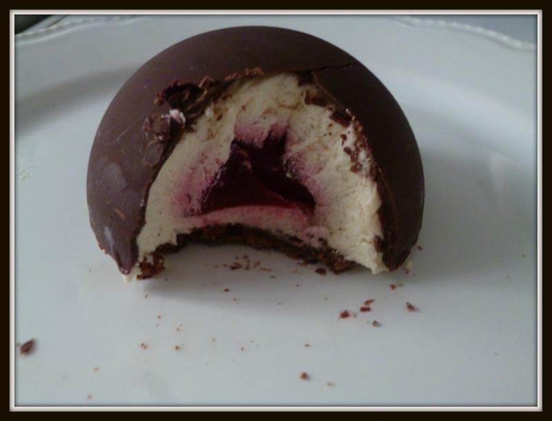 Recettes De Framboises Par Les D Lices De Dida D Me Chocolat Noir Mousse Vanille Insert