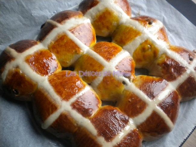 Hot cross buns (petites brioches de pâques) - Recette publiée le 15 ...