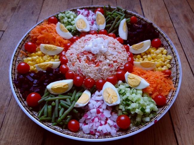 Cuisine Marocain Simple : Salade marocaine maroc recette par la tendresse en cuisine
