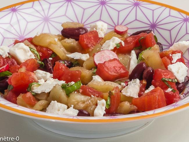 salade de crudit s d 39 t aux haricots rouges recette par kilometre 0. Black Bedroom Furniture Sets. Home Design Ideas