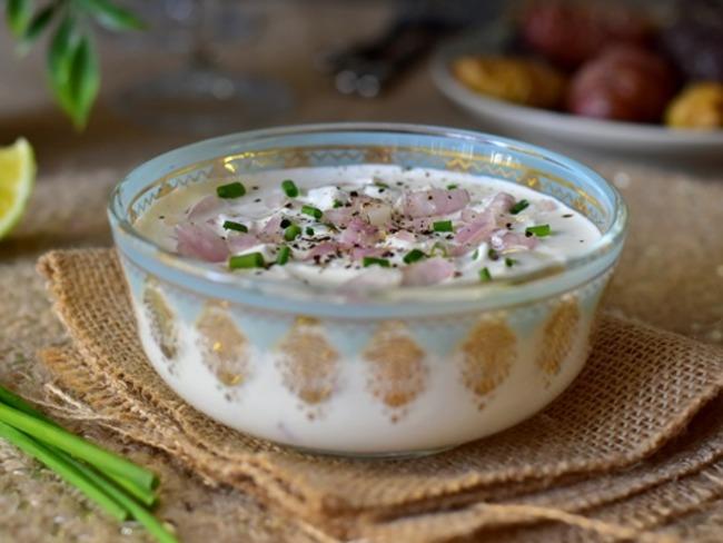sauce pierrade fromage blanc