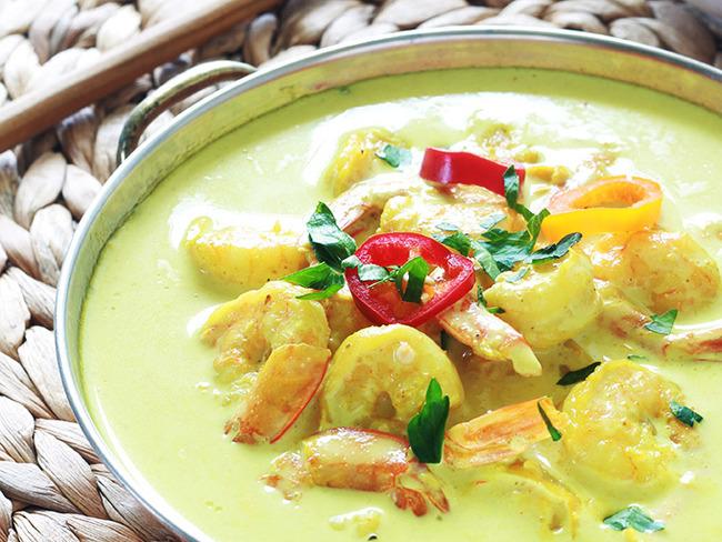 Curry De Crevettes Et Lait De Coco Rapide Recette Par Cuisine