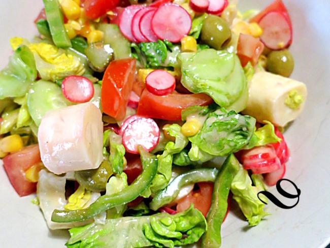 Idees De Recettes A Base De Salade Verte Et De Salade Composee
