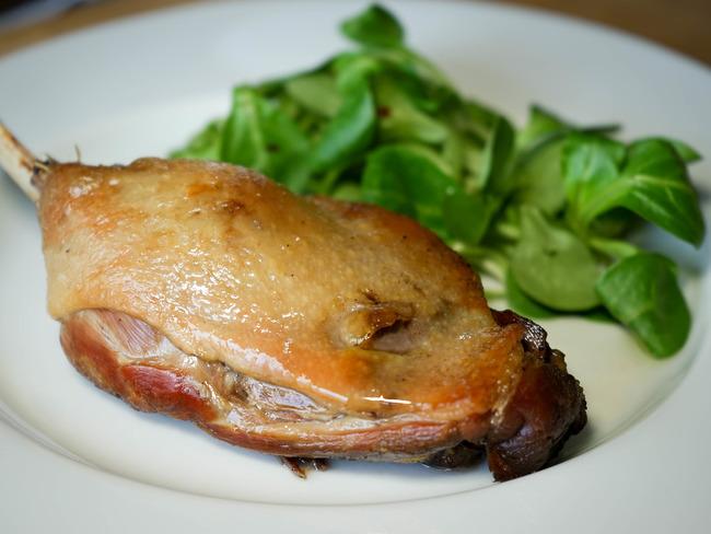 cuisse de canard confite cuisson
