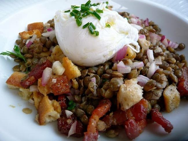 Salade Lyonaisse California Style Recipes — Dishmaps
