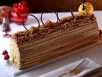 Buche de no l et autres id es de desserts pour no l et les - Idee de buche de noel originale ...