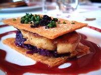 Entrées de foie gras pour noël
