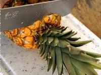 Découper un ananas