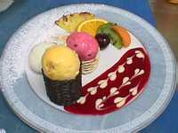 Belle assiette de desserts - Decoration assiette dessert ...