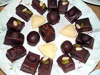 Bonbons enrobés chocolat