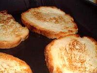 Tranches de pain perdu