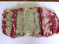 Selle d 39 agneau farcie aux herbes partie 3 farcir et cuire la selle d 39 agneau - Comment cuisiner la selle d agneau ...