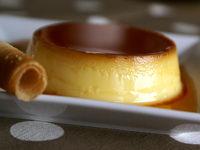 Crème renversée au caramel