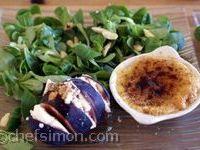 Crème brulée de foie gras