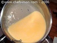 Crème anglaise ratée