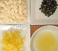 Ingrédients de la grenobloise