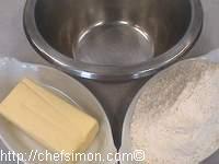 Tant pour tant de beurre et de farine pour le beurre manié