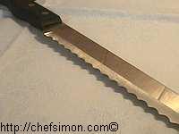 Couteau à dents