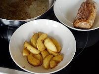 Déglacer un filet mignon au cidre