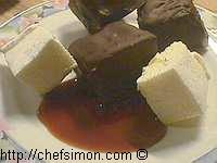 Guimauves enrobées de chocolat