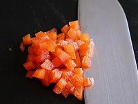 Brunoise de poivrons